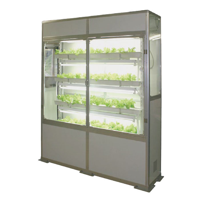 Vege-Cellar小型水耕栽培ユニット・アルミ